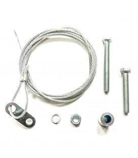 Câble ouverture depuis fosse pour les serrures mécaniques