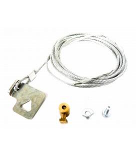 Câble ouverture depuis fosse pour les serrures eléctriques droites