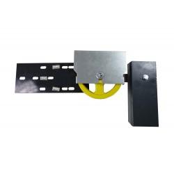 Poulie tendeuse avec des contrepoids Ø200 dimensions réduites