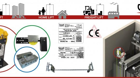 Composants de sécurité pour ascenseurs