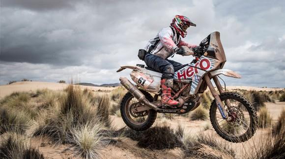 Gervall au Dakar 2018